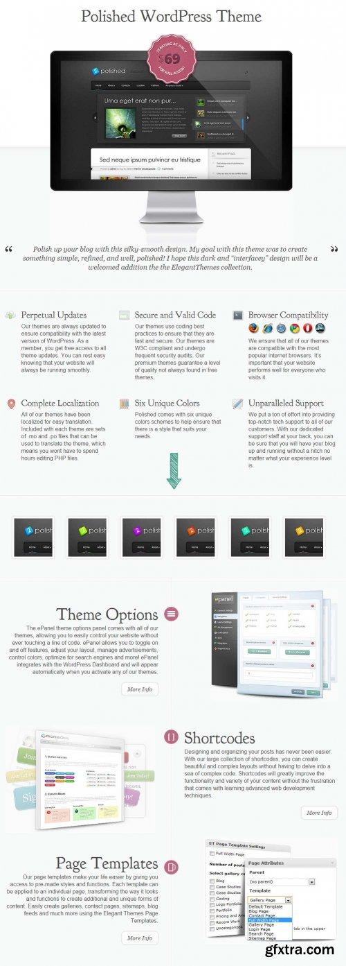 ElegantThemes - Polished WordPress Theme v4.1