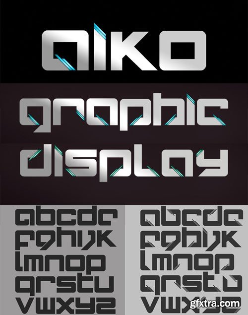 AIKO Font Family 2xOTF and WOFF $38