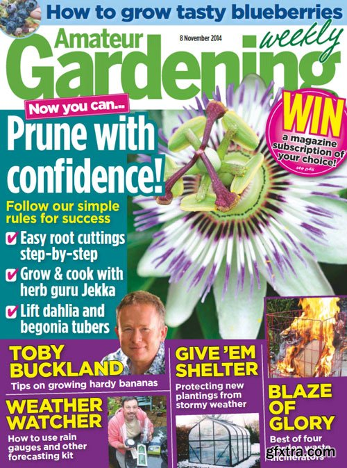 Amateur Gardening Magazine 8 November 2014