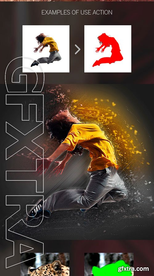GraphicRiver - Abstract Photoshop Action 9325380