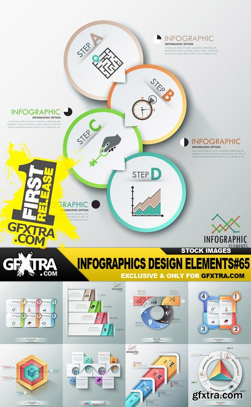 Infographics Design Elements#65 - 30 Vector