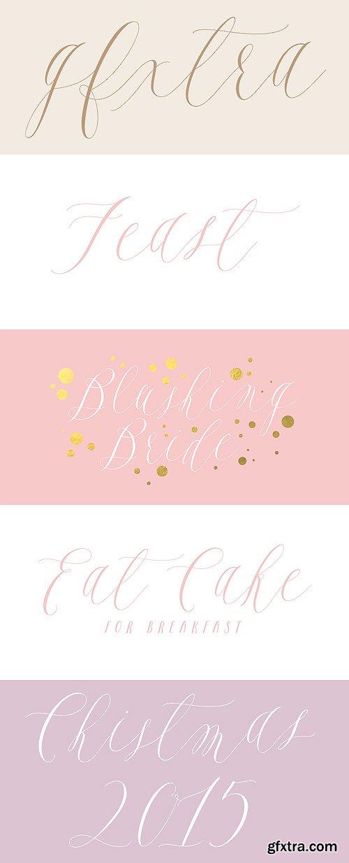Feast Calligraphy Style OTF $40