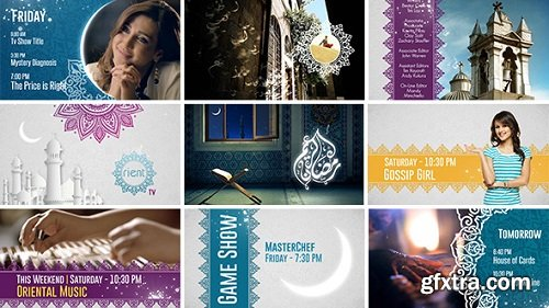 Videohive - Broadcast Ident Package - Ramadan Special 7767504