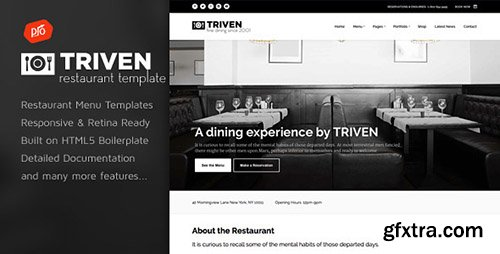 ThemeForest - Triven - Restaurant & Winery Site Template - RIP