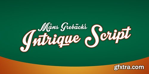 ?ntrique Script Font - 1 Font