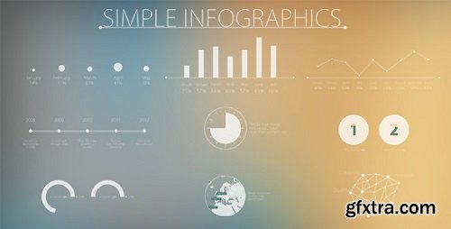 Videohive - Simple and Modern Infographics 7920053