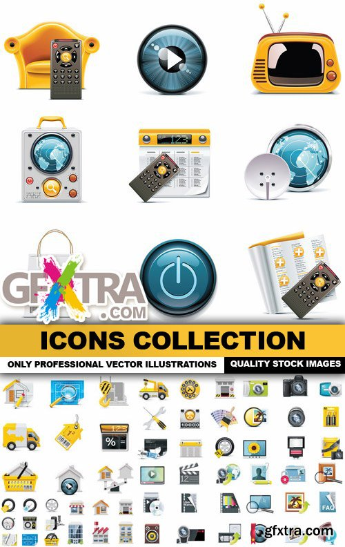Icons Collection #12 - 25 Vector