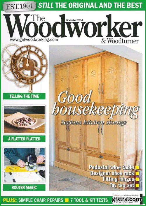 The Woodworker & Woodturner - November 2014
