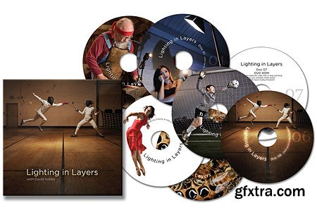 Strobist: Lighting in Layers with David Hobby (DVDs 1-6)