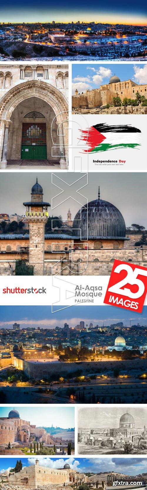 Al-Aqsa Mosque, Palestine 23xJPG, 2xEPS