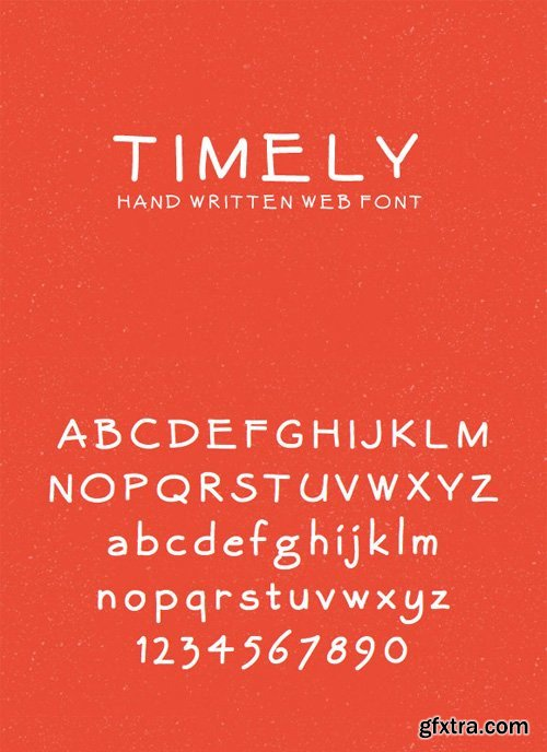 Timely – Hand Written Web Font