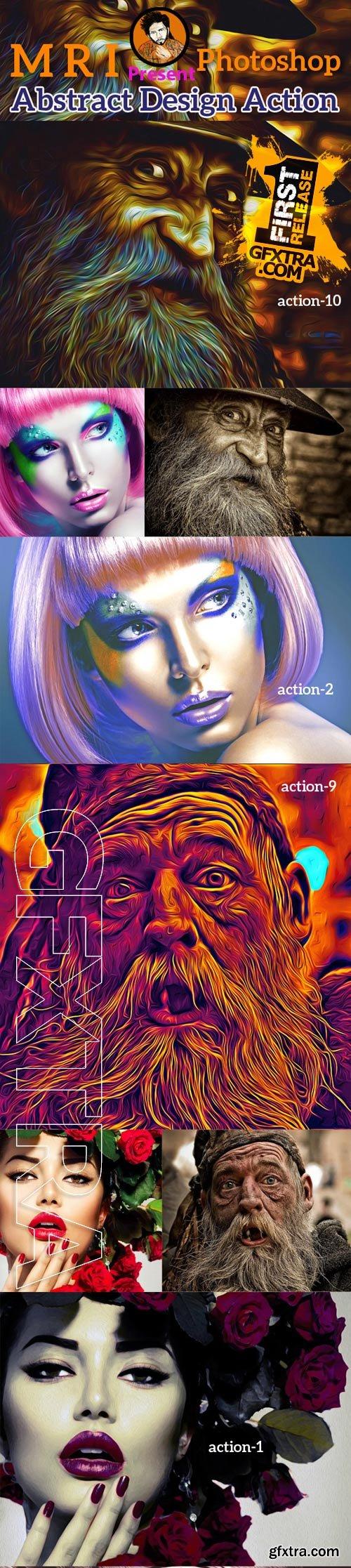 GraphicRiver - Oil Art Action 9410045