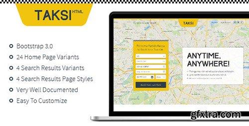 ThemeForest - Taksi | HTML - RIP