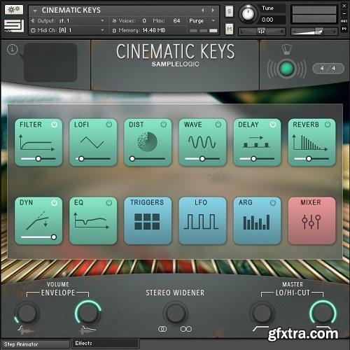 Sample Logic Cinematic Keys NKS UPDATE KONTAKT-SYNTHiC4TE
