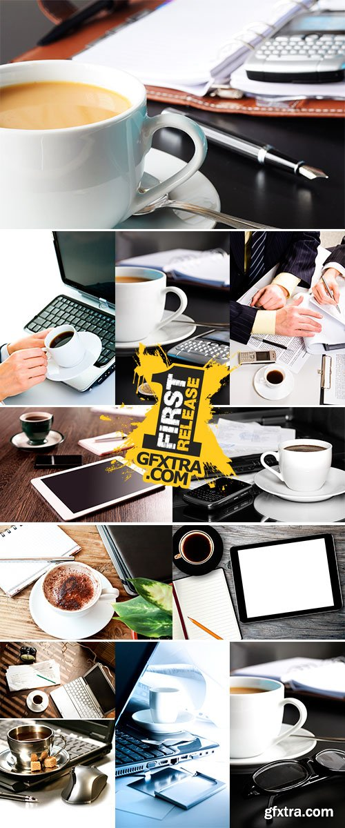 Stock Photo Business coffee break