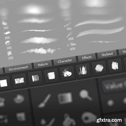 Gumroad - Custom Brush Panel by De Ro Jonas