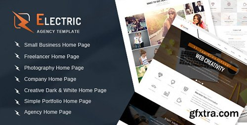ThemeForest - Electric - Multipurpose HTML Site Template - RIP