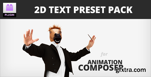 Videohive - 2D Text Preset Pack for Animation Composer Plug-in 8949951