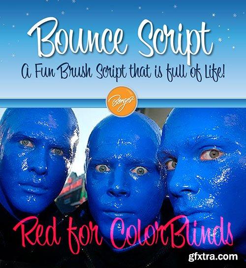Bounce Script Font $35