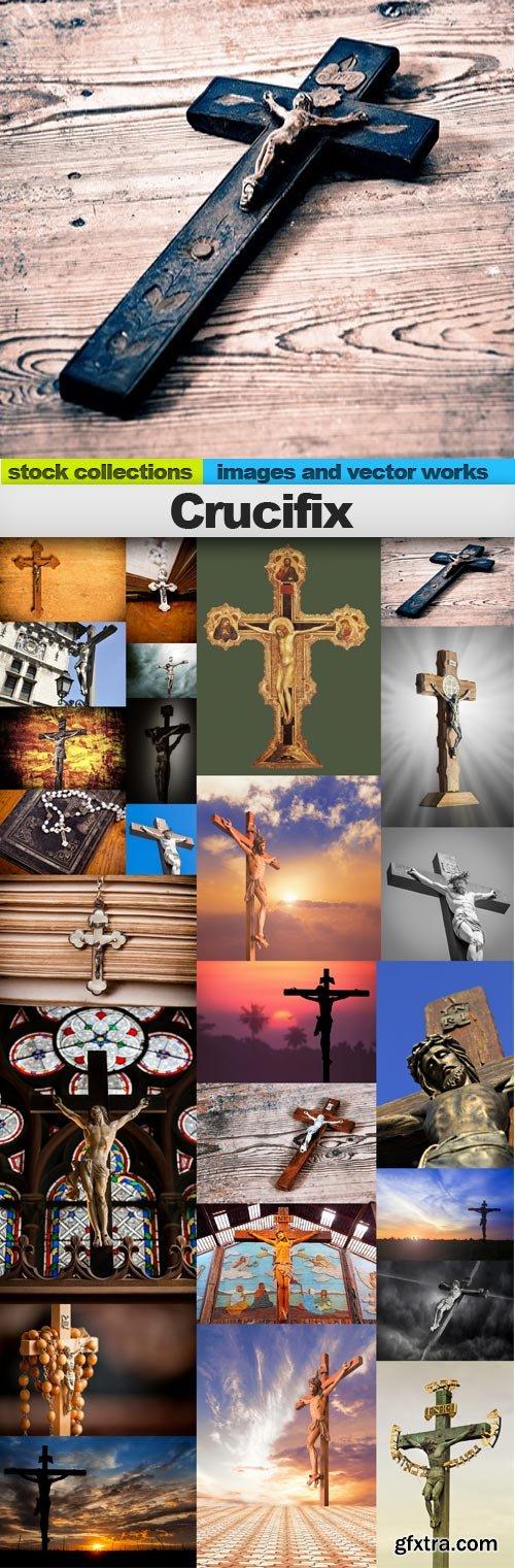 Crucifix,25 x UHQ JPEG