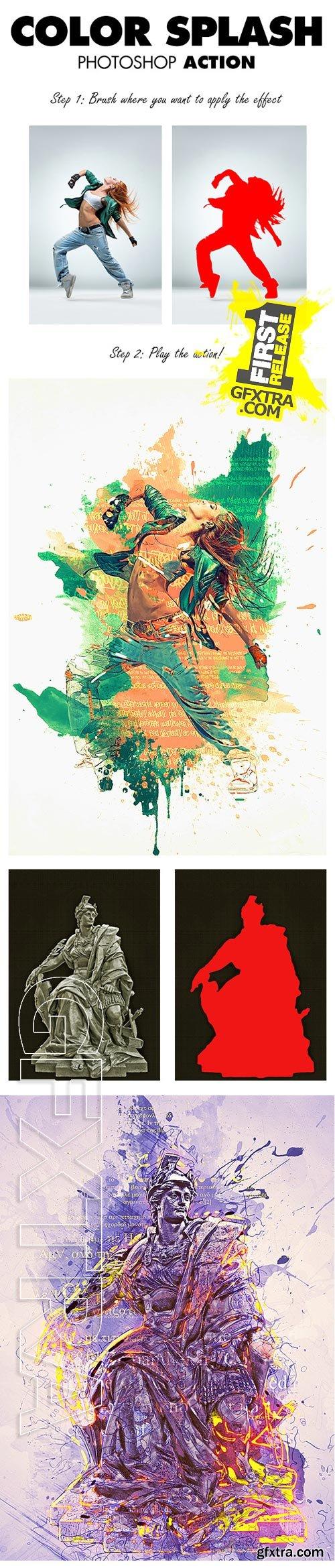 GraphicRiver - Color Splash Photoshop Action 9470938