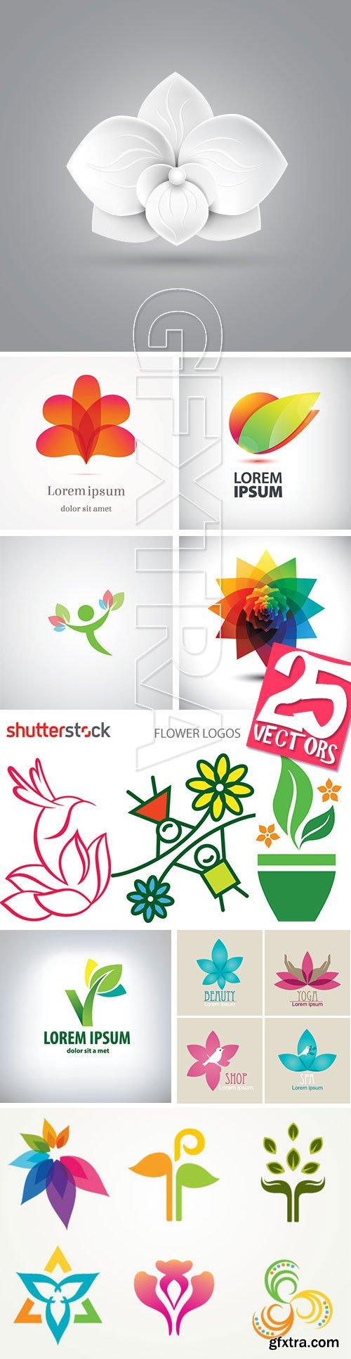 Flower Logos 25xEPS