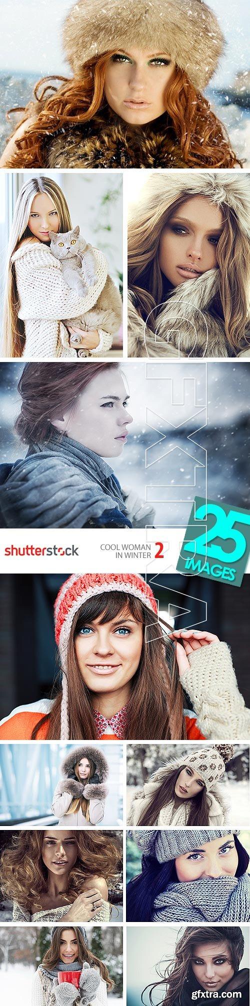 Cool Woman in Winter 2, 25xJPG