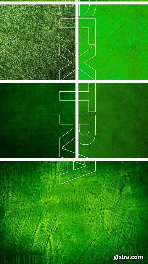 Green Backgrounds 25xJPG