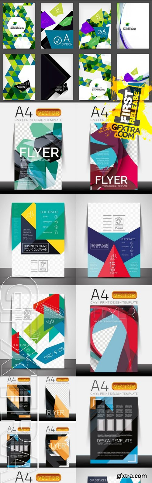 Vector - Business Corporate Flyer Template