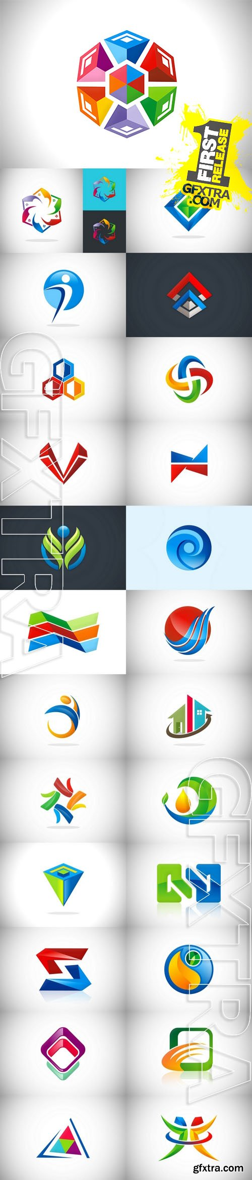 Vector - Color Abstract Logo