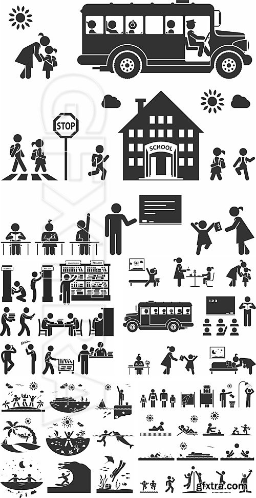 People pictograms 7