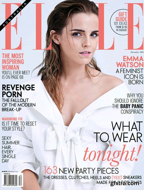 ELLE Australia Magazine December 2014 (True PDF)