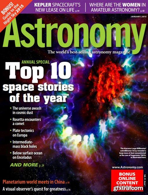 Astronomy - January 2015 (True PDF)