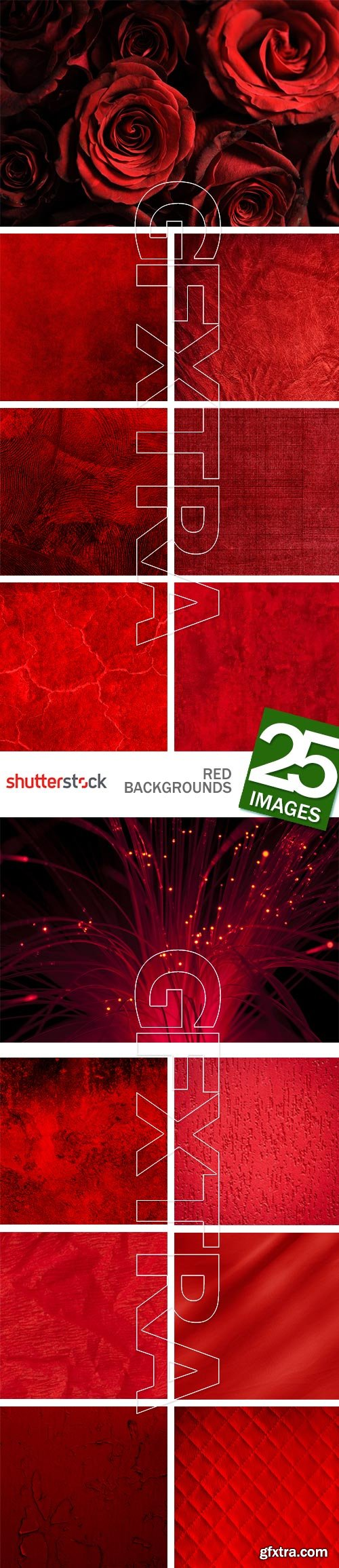 Red Backgrounds 25xJPG