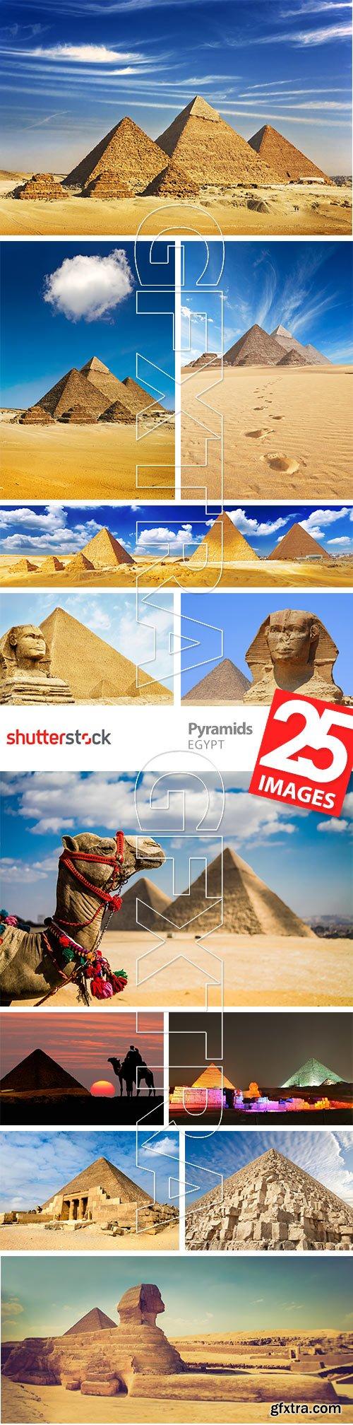 Pyramids EGYPT 25xJPG