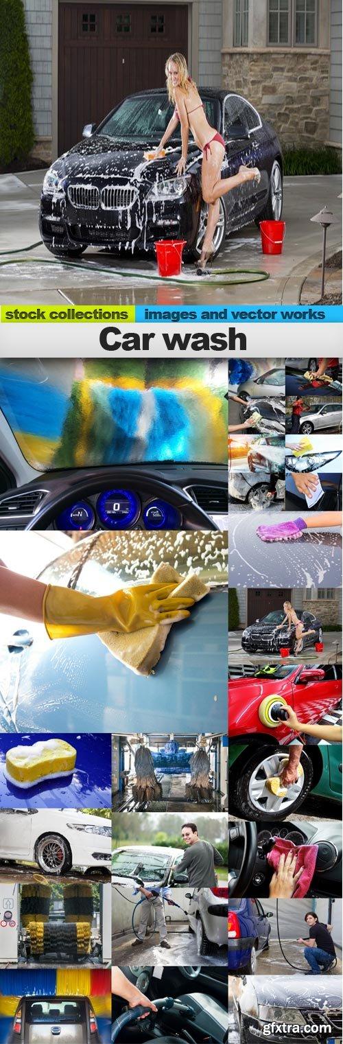 Car wash,25 x UHQ JPEG