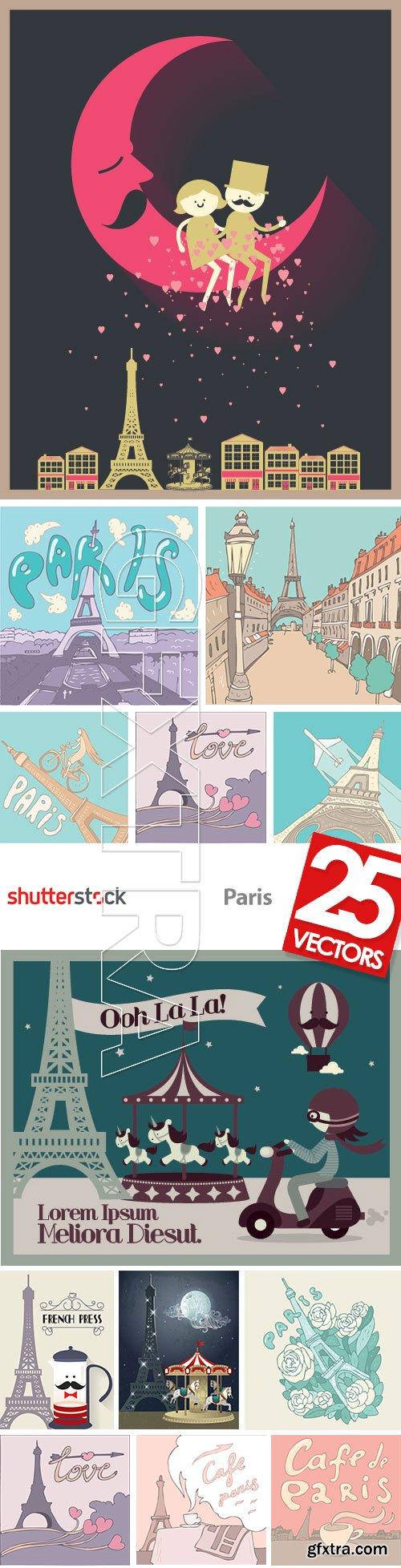 Paris - Romatic City 25xEPS