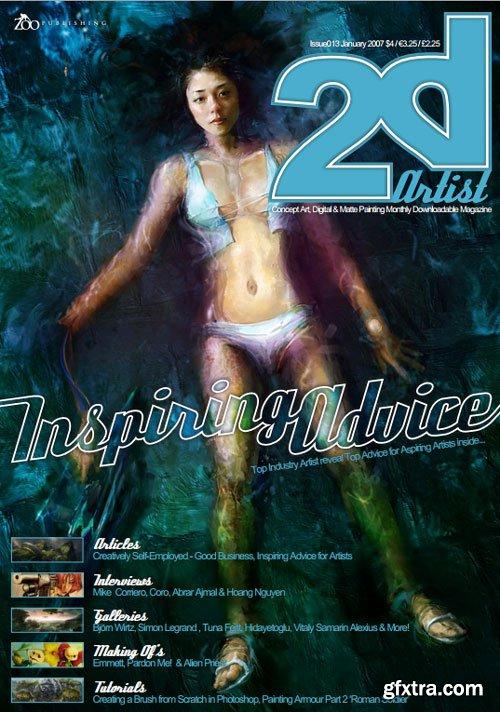 2D Artist - Issue 13