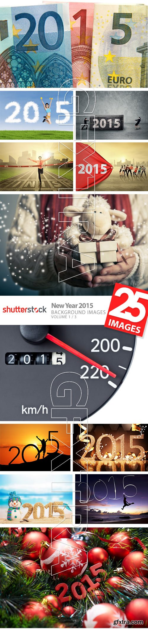 New Year 2015 - Background Images Vol.1, 25xJPG