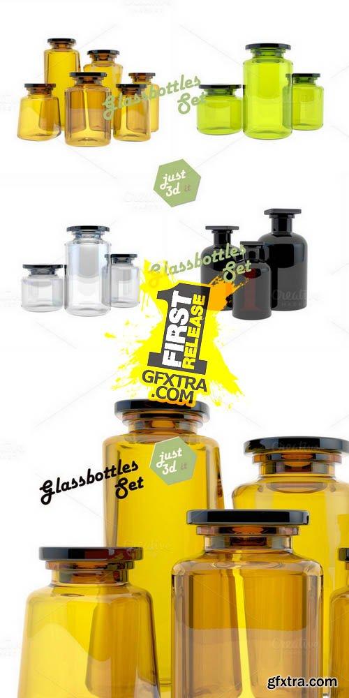 Vintage Jars - Creativemarket 121886