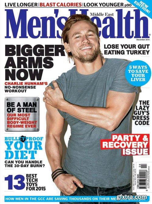 Men's Health Middle East Magazine December 2014 (True PDF)
