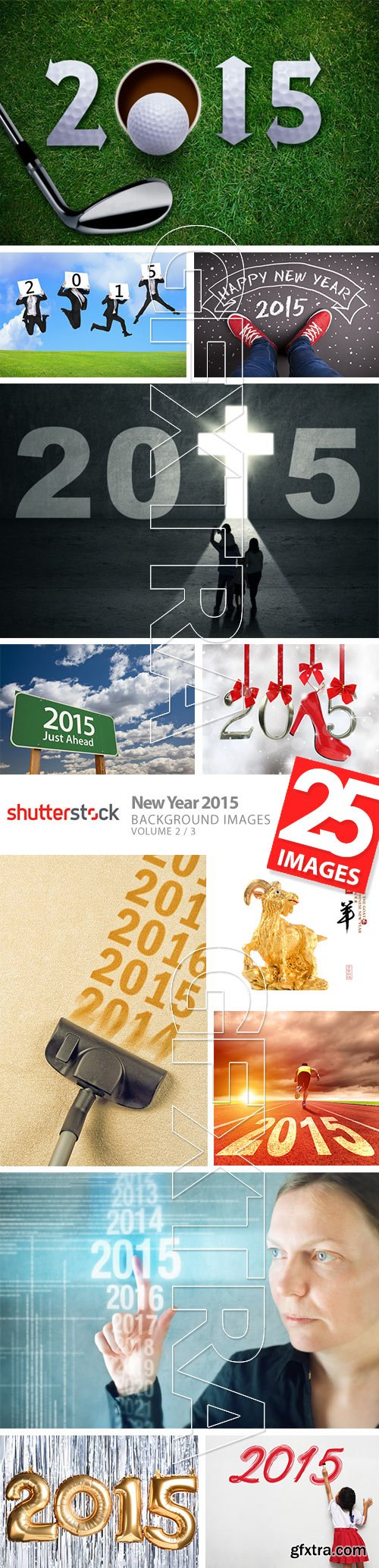 New Year 2015 - Background Images Vol.2, 25xJPG