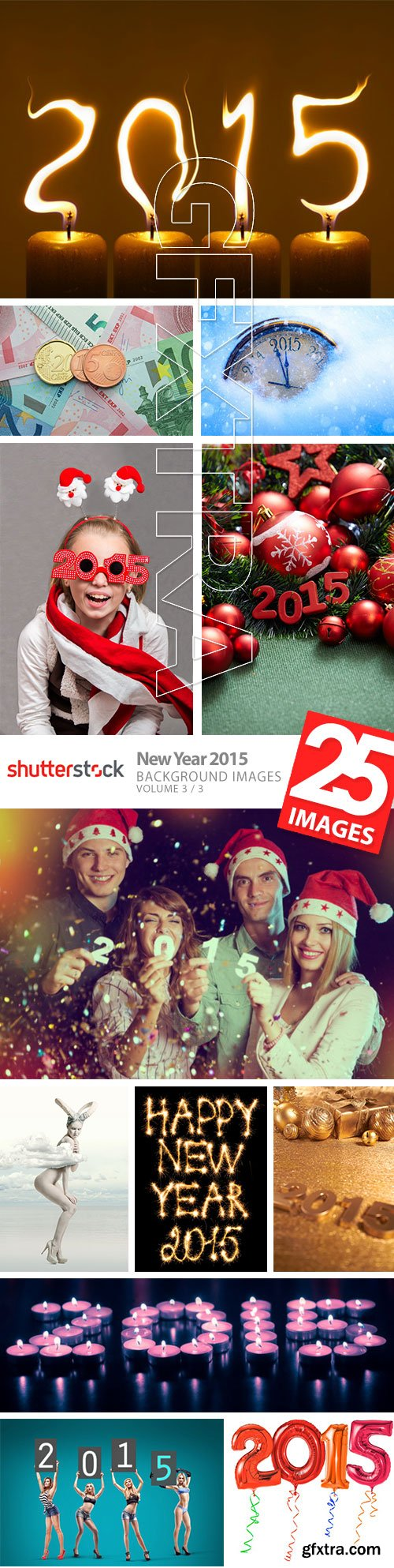 New Year 2015 - Background Images Vol.3, 25xJPG