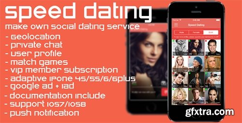 CodeCanyon - Speed Dating v1.1 - social dating network