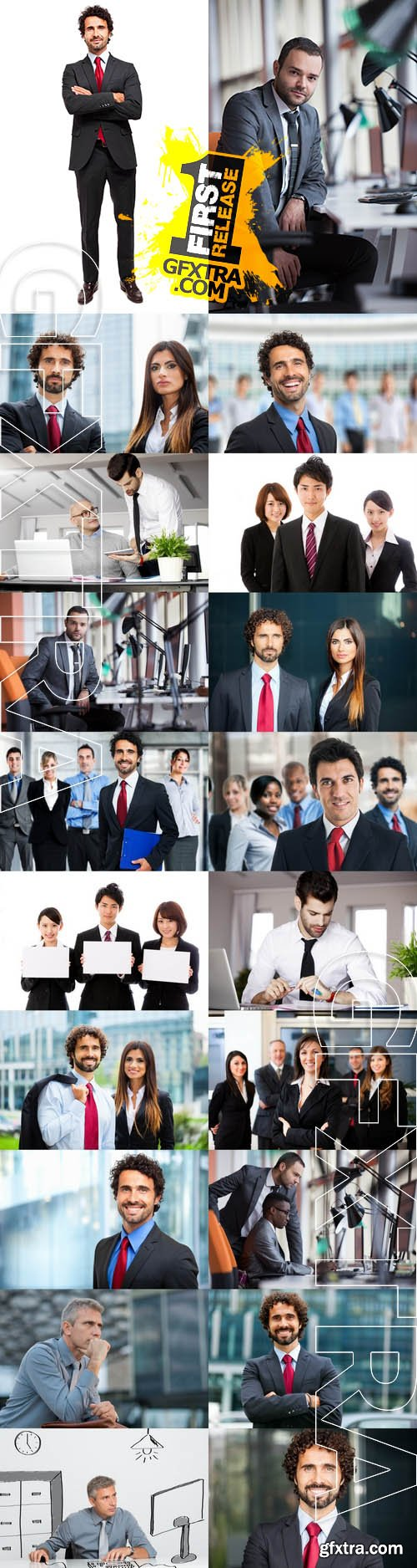 Stock Photos - Business People 2