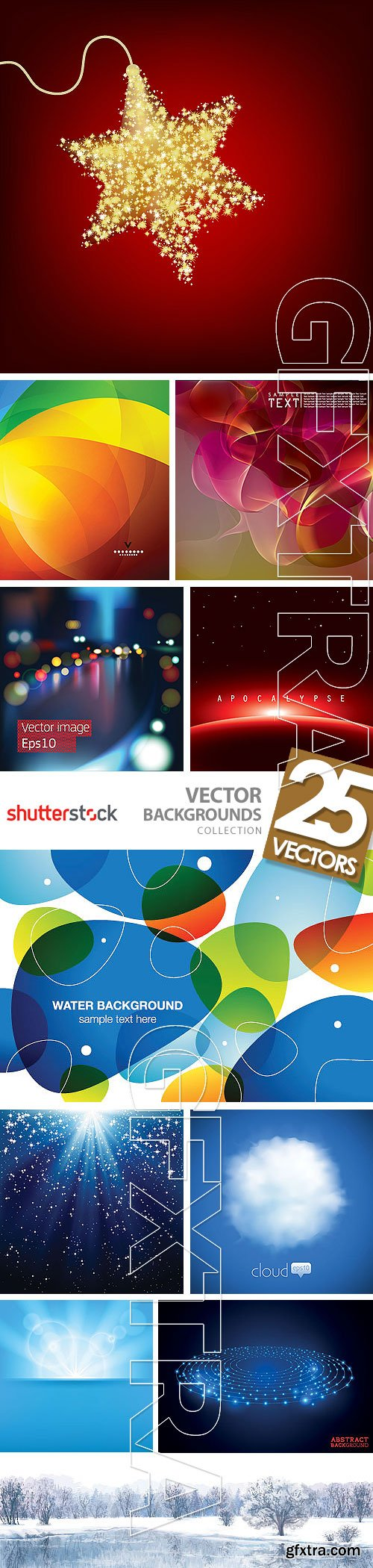 Vector Backgrounds 25xEPS
