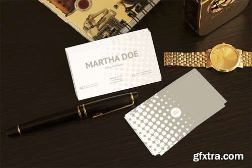Business Cards Mock-up PSD
