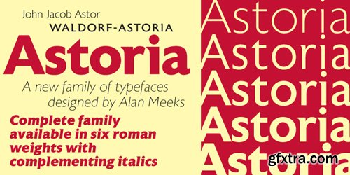 Accelerator Font Family $320