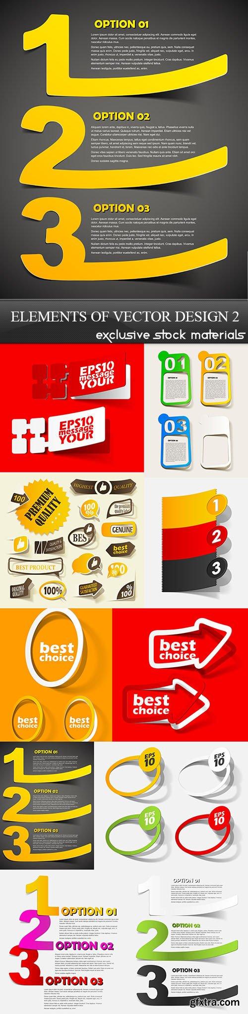 Elements of Vector Design 2, 10xEPS