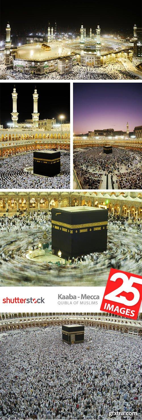 Kaaba - Mecca, Quibla of Muslims 25xJPG